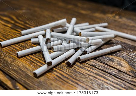 Several Cigarettes