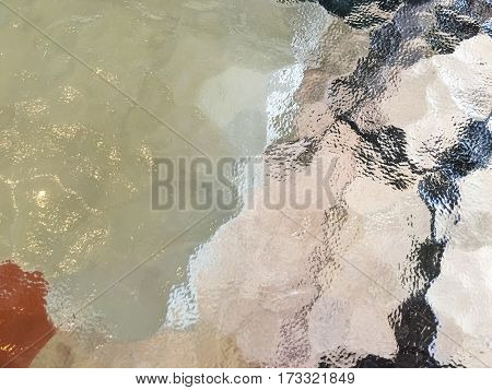 abstract a table glass texture and background