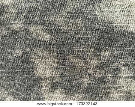 Gray jeans denim fabric background and texture
