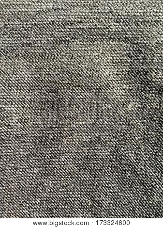 Close up gray jeans denim background and texture