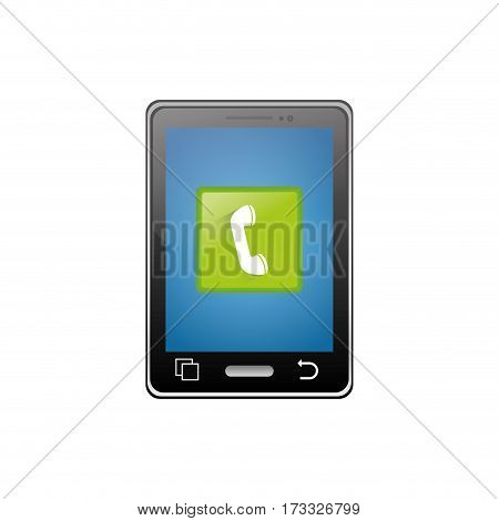 Mobile applications for smartphone icon vector illustration graphic design