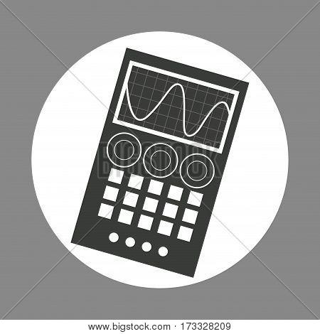 laboratory device chemistry dark design vector illustration eps 10