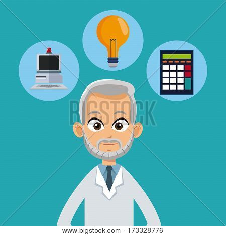 doctor male healthy icons vector illustration eps 10