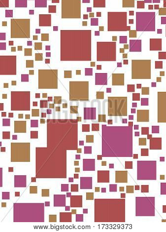 Abstract Background With Random Squares. Pattern For Nice Concept.