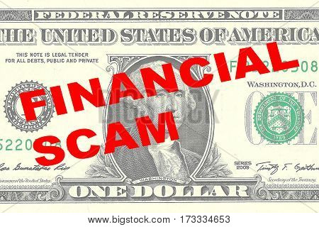 Financial Scam - Financial Concept