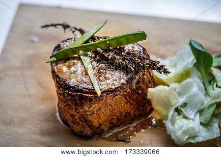Medium Roast Rib-eye Steak
