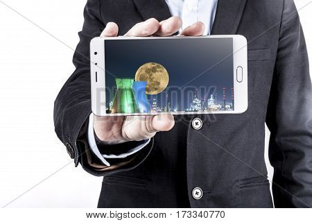 Man And Phone