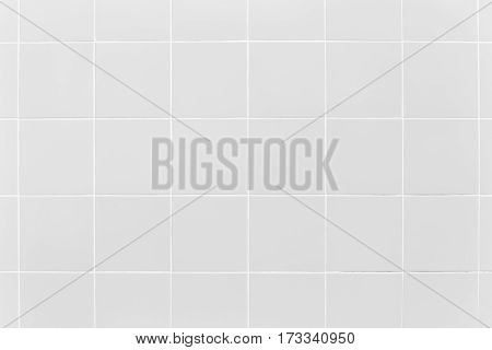 Gray tile floor clean condition with geometric line for background.