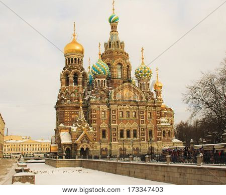 Church of the Savior on Blood in St Petersburg