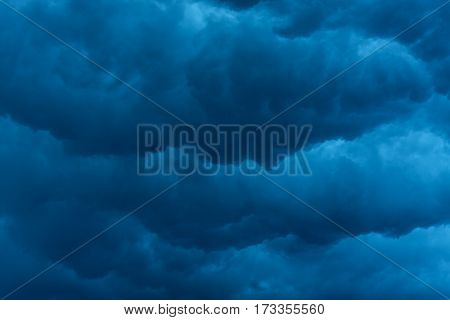 heavy massive stormy clouds with no sunlight