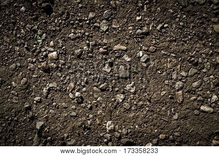 Soil, texture of the soil, soil texture, nature background, ground, stony ground, natural background
