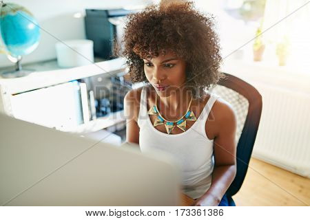Attractive African American Businesswoman
