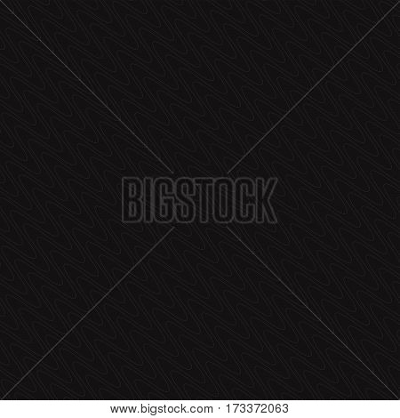 Gray seamless wavy line pattern.  Abstract texture for backdrop. Geometric seamless ornament.