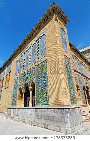 In Iran Antique Palace  Golestan