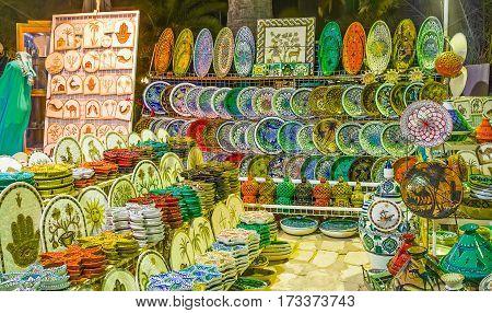 The Tunisian Crafts