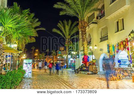 The Streets Of El Kantaoui