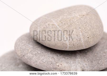 Abstract Macro Grey Stones Background