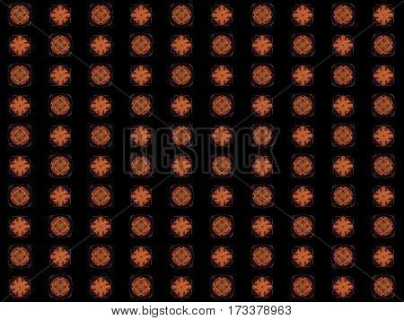 Texture With Rendering Abstract Fractal Purple Pattern
