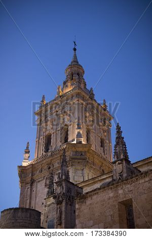 Church Cathedral of Burgo de Osma, Soria, Spain