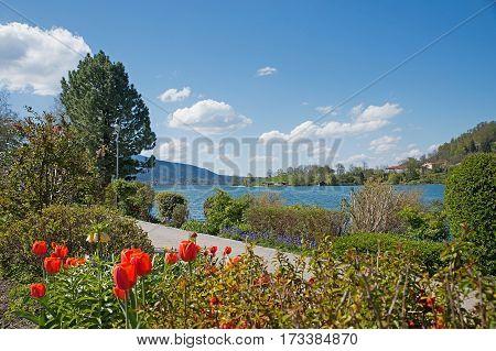 Beautiful Lakeside Promenade Rottach-egern, Tegernsee