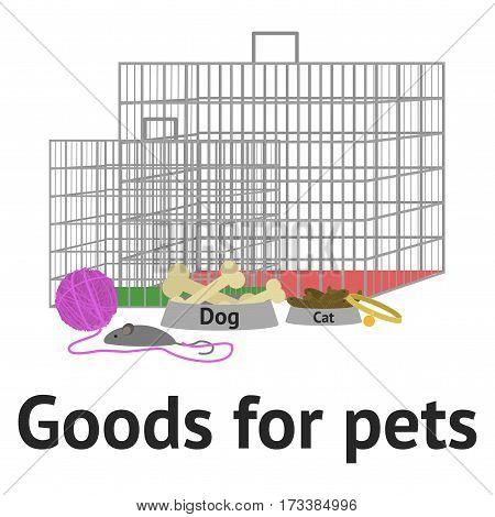 Pet Goods Vector