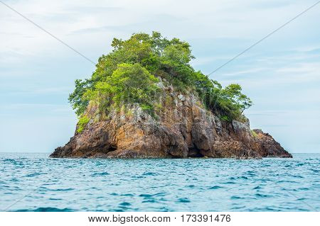 Small rock island on the sea Koh Lipe Thailand