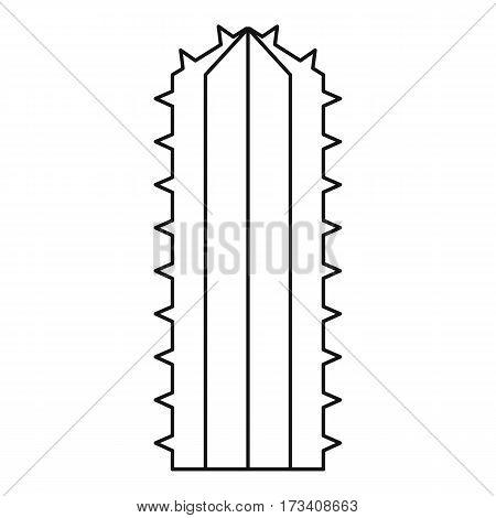 Plant of desert icon. Outline illustration of plant of desert vector icon for web