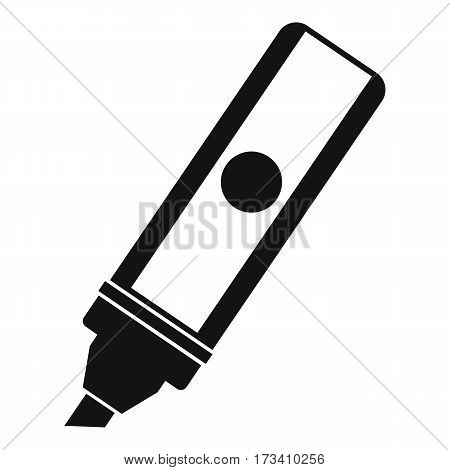 Permanent marker icon. Simple illustration of permanent marker vector icon for web
