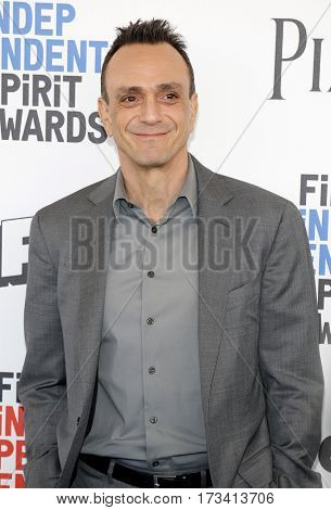 Hank Azaria at the 2017 Film Independent Spirit Awards held at the Santa Monica Pier in Santa Monica, USA on February 25, 2017.