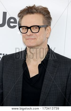 Colin Firth at the 2017 Film Independent Spirit Awards held at the Santa Monica Pier in Santa Monica, USA on February 25, 2017.