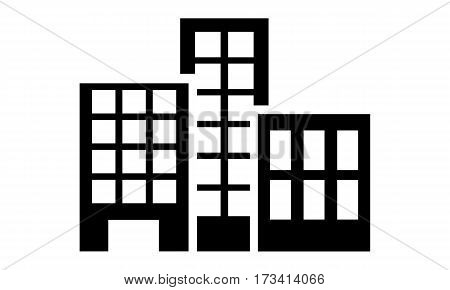 Pictogram - Hotel Hotel business Skyscraper Hotel industry Hotel sector - Object Icon Symbol