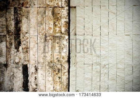 Nature stone wall background and texture photo