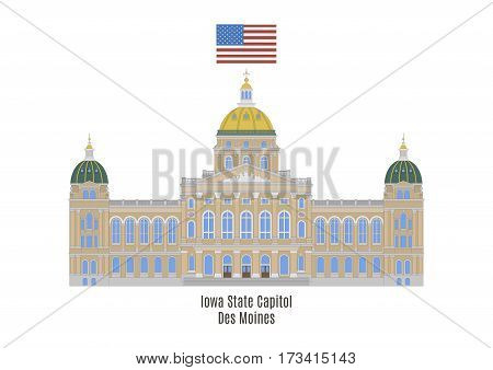 Iowa State Capitol, Des Moines