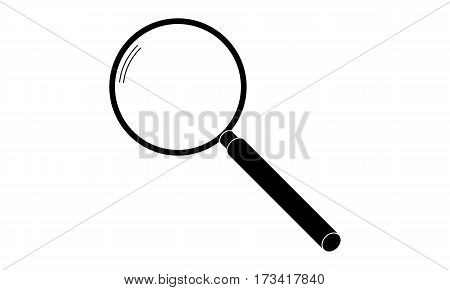 Pictogram - Loupe Magnifer Magnifying glass Search Magnifying lense - Object Icon Symbol