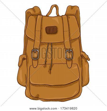 Vector Single Cartoon Casual Style Backpack