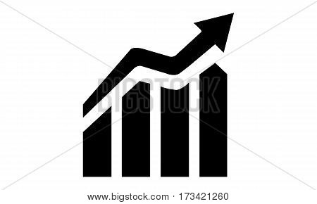 Pictogram - Growth Increase Expansion Diagram Graph Chart Scale Statistic - Object Icon Symbol