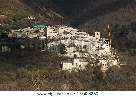Campi, also known as Campi di Norcia, is a frazione of the comune of Norcia in the province of Perugia, Umbria, Italy