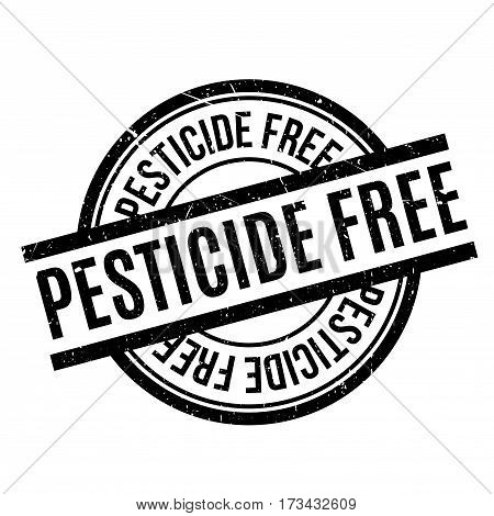 Pesticide Free rubber stamp. Grunge design with dust scratches. Effects can be easily removed for a clean, crisp look. Color is easily changed.