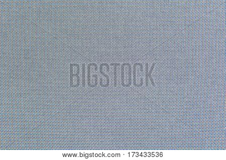 Light blue flax fiber linen texture for the background. Fabric of natural raw material