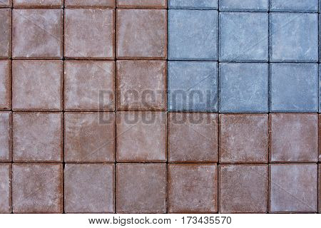 New Paving Top View