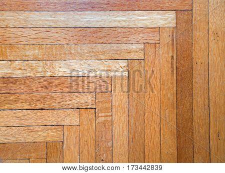 Old Oak Hardwood Floor Background