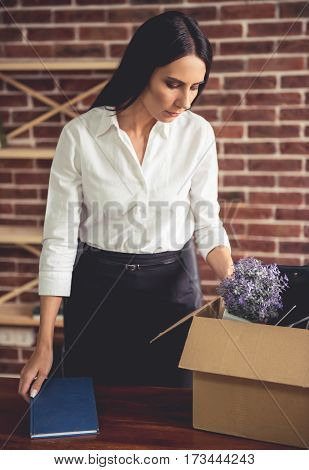 Business Woman Getting Fired
