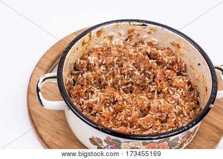 Minced Meat With Rice