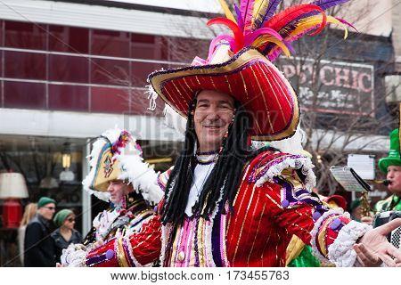 Asbury Park Saint Patricks Day Parade 2016