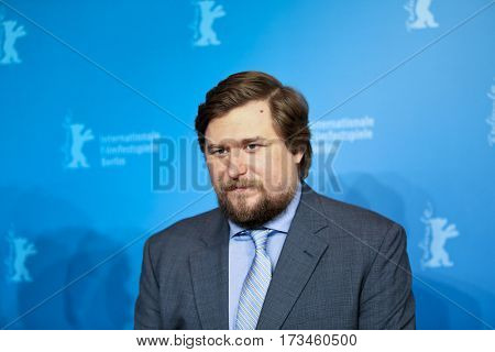 Michael Chernus attends the 'Patriot' premiere during the 67th  Film Festival Berlin at Haus Der Berliner Festspiele on February 14, 2017 in Berlin, Germany.