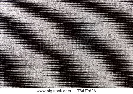 Macro photo of grey textile as background or texture.