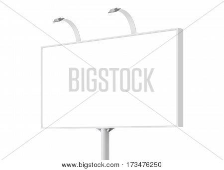 Blank Billboard Day View Mock-up