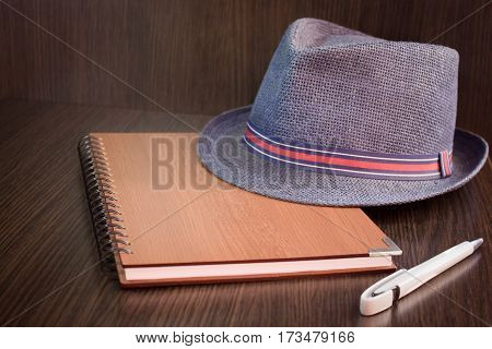 Men's set of business supplies for work
