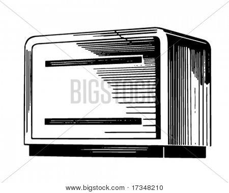 Breadbox - Retro Clipart Illustration