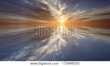 abstract the dawn . bright background picture